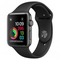 Apple Watch Series 2 42mm Aluminum Case with Sport Band space gray (черный/серый) - Интернет магазин AT-STORE в Екатеринбурге