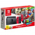 Игровая приставка Nintendo Switch Red Super Mario Odyssey Bundle - Интернет магазин AT-STORE в Екатеринбурге