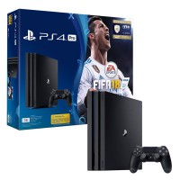 PlayStation 4 Pro 1Tb + FIFA 18 + PS Plus 14 дней (CUH-7008B) - Интернет магазин AT-STORE в Екатеринбурге