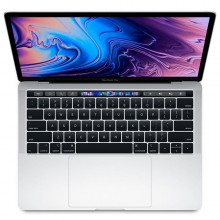 Ноутбук Apple MacBook Pro 13 with Retina display and Touch Bar Mid 2018 256GB Silver MR9U2RU/A - Интернет магазин AT-STORE в Екатеринбурге