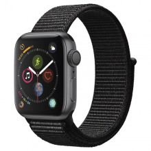 Часы Apple Watch Series 4 GPS 40mm Aluminum Case SpaceGrey Al/Black Sport Loop - Интернет магазин AT-STORE в Екатеринбурге