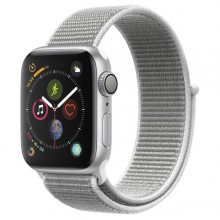 Часы Apple Watch Series 4 GPS 44mm Aluminum Case SilverAl/Seashell Sport Loop - Интернет магазин AT-STORE в Екатеринбурге