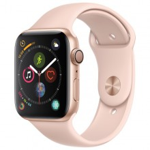 Часы Apple Watch Series 4 GPS 40mm Aluminum Case Gold Al/Pink Sand Sport Band - Интернет магазин AT-STORE в Екатеринбурге
