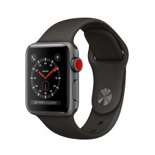 Часы Apple Watch Series 4 GPS + Cellular 40mm Aluminum Case SpaceGrey Al/Black Sport Band - Интернет магазин AT-STORE в Екатеринбурге