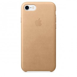 Чехол Apple iPhone 8 / 7 Leather Case Tan (MMY72ZM/A) - Интернет магазин AT-STORE в Екатеринбурге