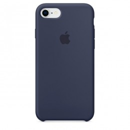 Чехол для iPhone Apple iPhone 8 / 7 Silicone Midnight Blue (MQGM2ZM/A) - Интернет магазин AT-STORE в Екатеринбурге