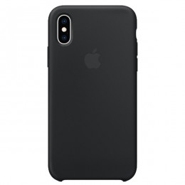 Чехол Apple iPhone XS Max Silicone Case Black - Интернет магазин AT-STORE в Екатеринбурге