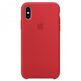 Чехол Apple iPhone XS Max Silicone Case (PRODUCT)RED - Интернет магазин AT-STORE в Екатеринбурге