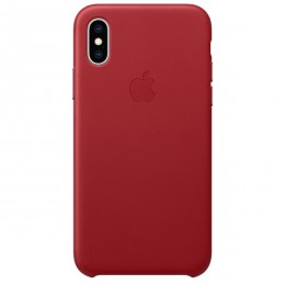Чехол для Apple iPhone XS Max Leather Case (PRODUCT)RED - Интернет магазин AT-STORE в Екатеринбурге