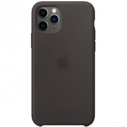 Чехол для Apple iPhone 11 Pro Silicone Case Black - Интернет магазин AT-STORE в Екатеринбурге