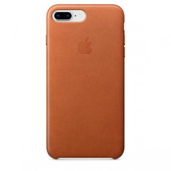 Чехол для iPhone Apple iPhone 8 Plus / 7 Plus Leather Saddle Brown (MQHK2ZM/A) - Интернет магазин AT-STORE в Екатеринбурге